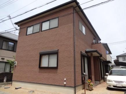耐火煉瓦でクラシックなデザイン 太子町M様邸 施工前1
