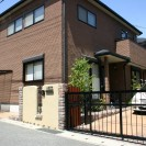 耐火煉瓦でクラシックなデザイン 太子町M様邸1