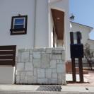 アンティークレンガ積み門柱 たつの市Y様邸1