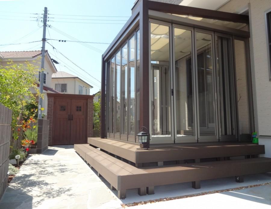 ジーマガーデンルームのある暮らし 姫路市S様邸2