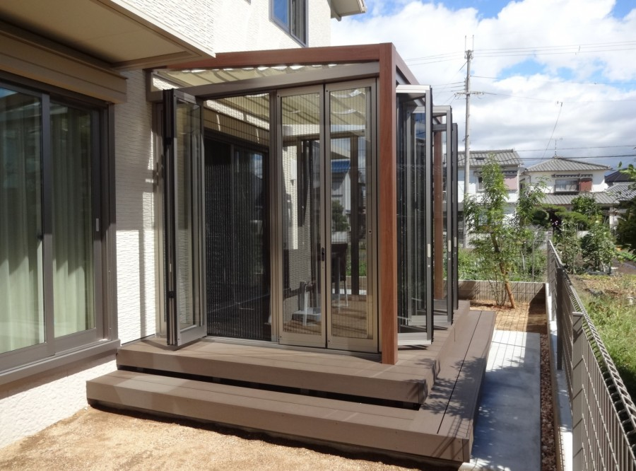 ジーマガーデンルームで癒しの空間を満喫 加古川市M様邸5