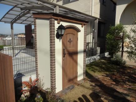 お庭にカンナキュートが仲間入り 姫路市N様邸5