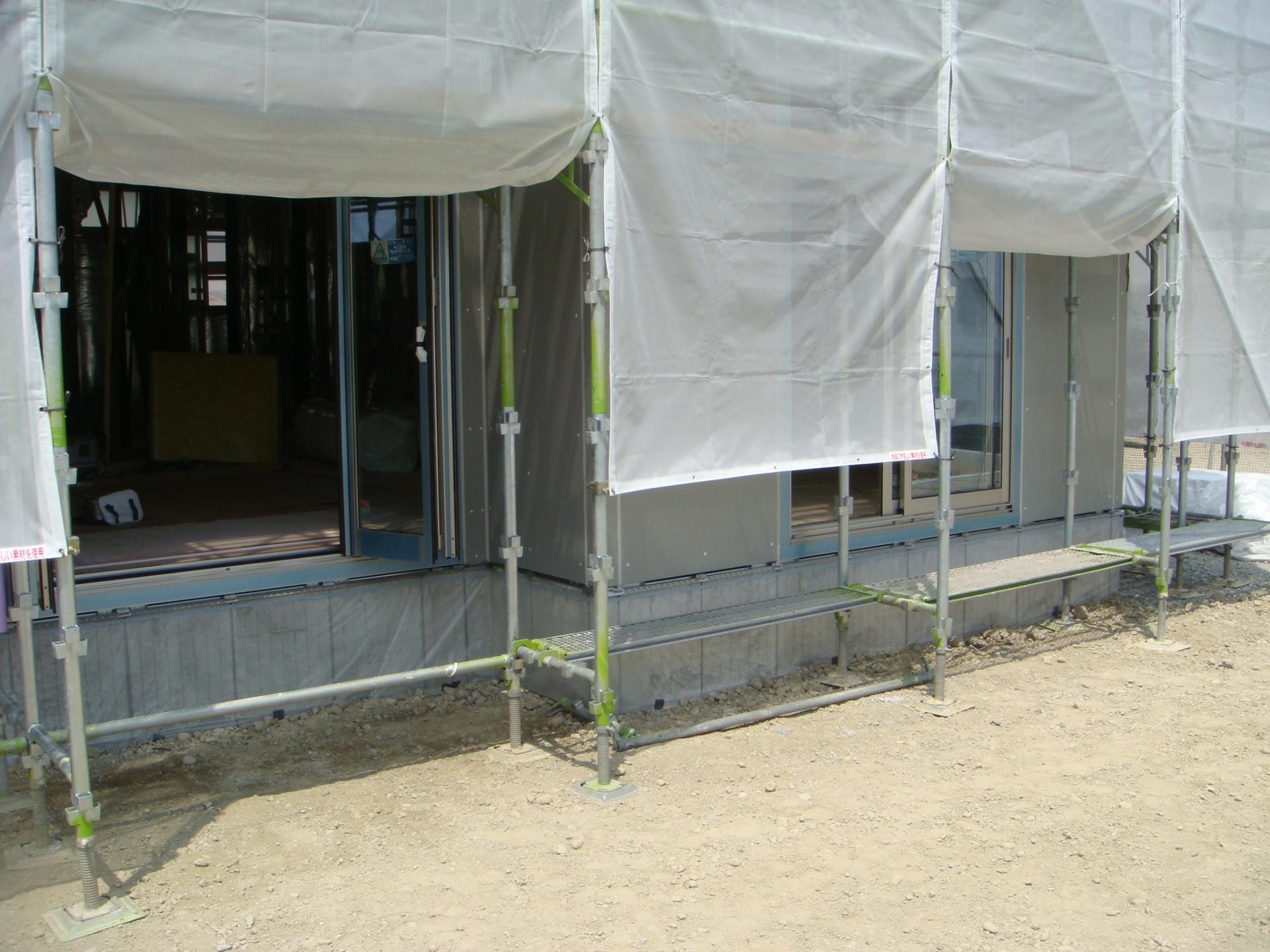 たつの市T様邸ココマ|ウッドデッキ工事 着工前状況