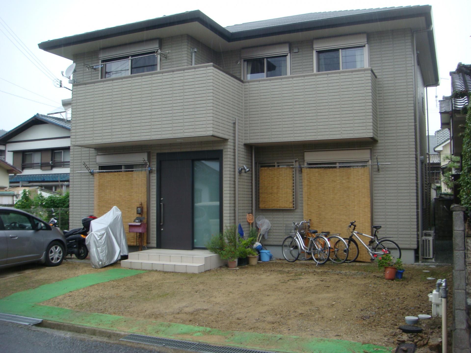 姫路市S様邸エクステリア|ガーデン工事着工前状況