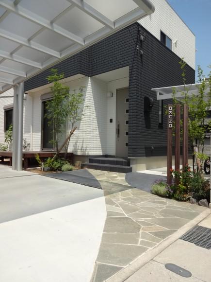 自然素材を取り入れたシンプルデザイン 姫路市O様邸3