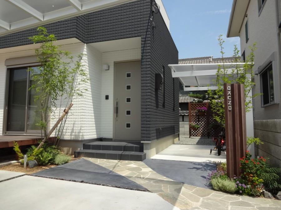 自然素材を取り入れたシンプルデザイン 姫路市O様邸2