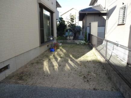 姫路市H様邸車庫拡張工事施工前
