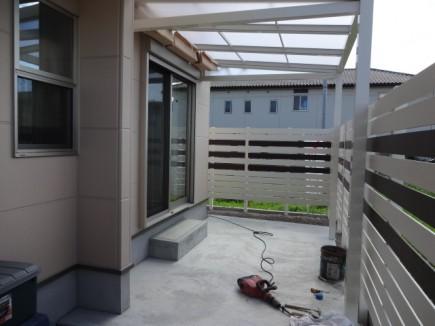 姫路市Y様邸 ガーデン工事施工中