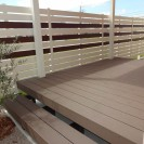 お庭やテラスの趣を変える人工木デッキ ウッドデッキ