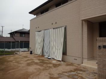 ココマガーデンルーム腰壁タイプ施工例1