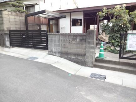 姫路市M様邸新築外構工事解体前1