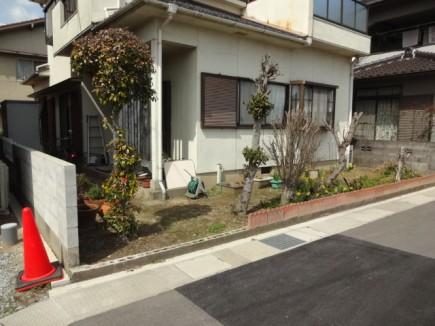 姫路市S様邸車庫拡張工事 施工前1