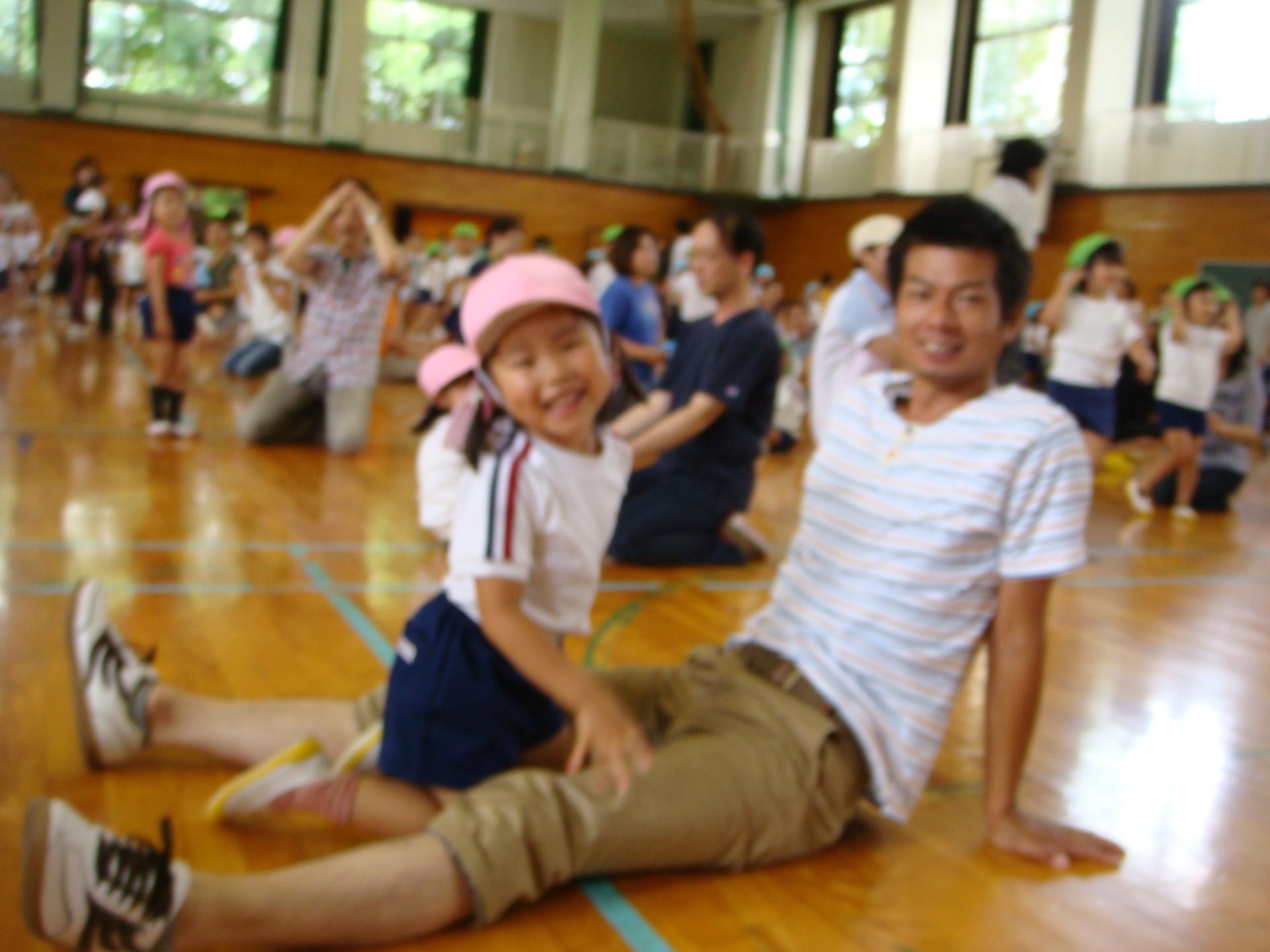 ファミリー参観親子体操1