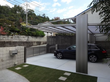 水平ラインが美しいシンプルデザイン 姫路市M様邸アーキフランワイド2