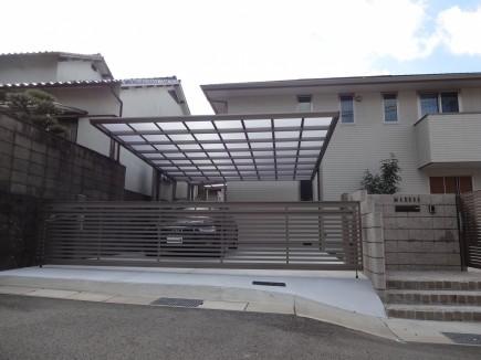 水平ラインが美しいシンプルデザイン 姫路市M様邸アーキフランワイド