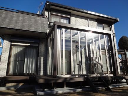 ガーデンルームジーマ 完成写真 太子町T様