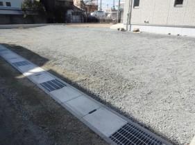 太子町Y様邸道路側溝やり替え工事施工後