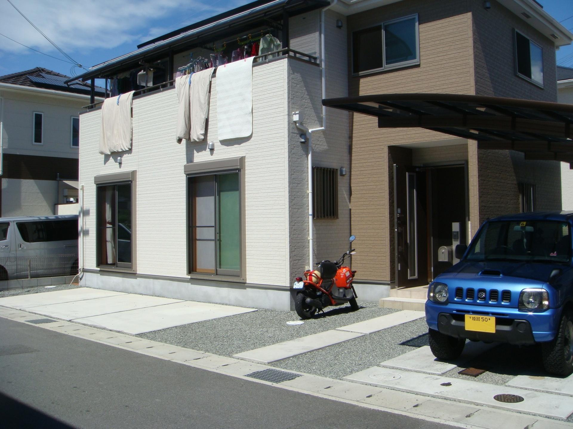 姫路市S様邸エクステリア工事施工前全景