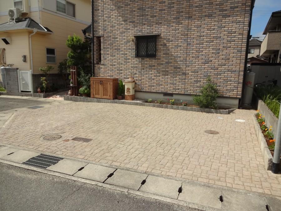 ユニソン アッピア敷きパーキングエリア 姫路市M様邸