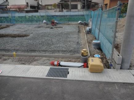 姫路市O様邸建物基礎着工前状況