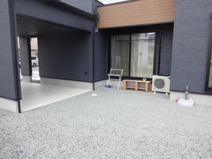 姫路市M様邸お庭工事施工前