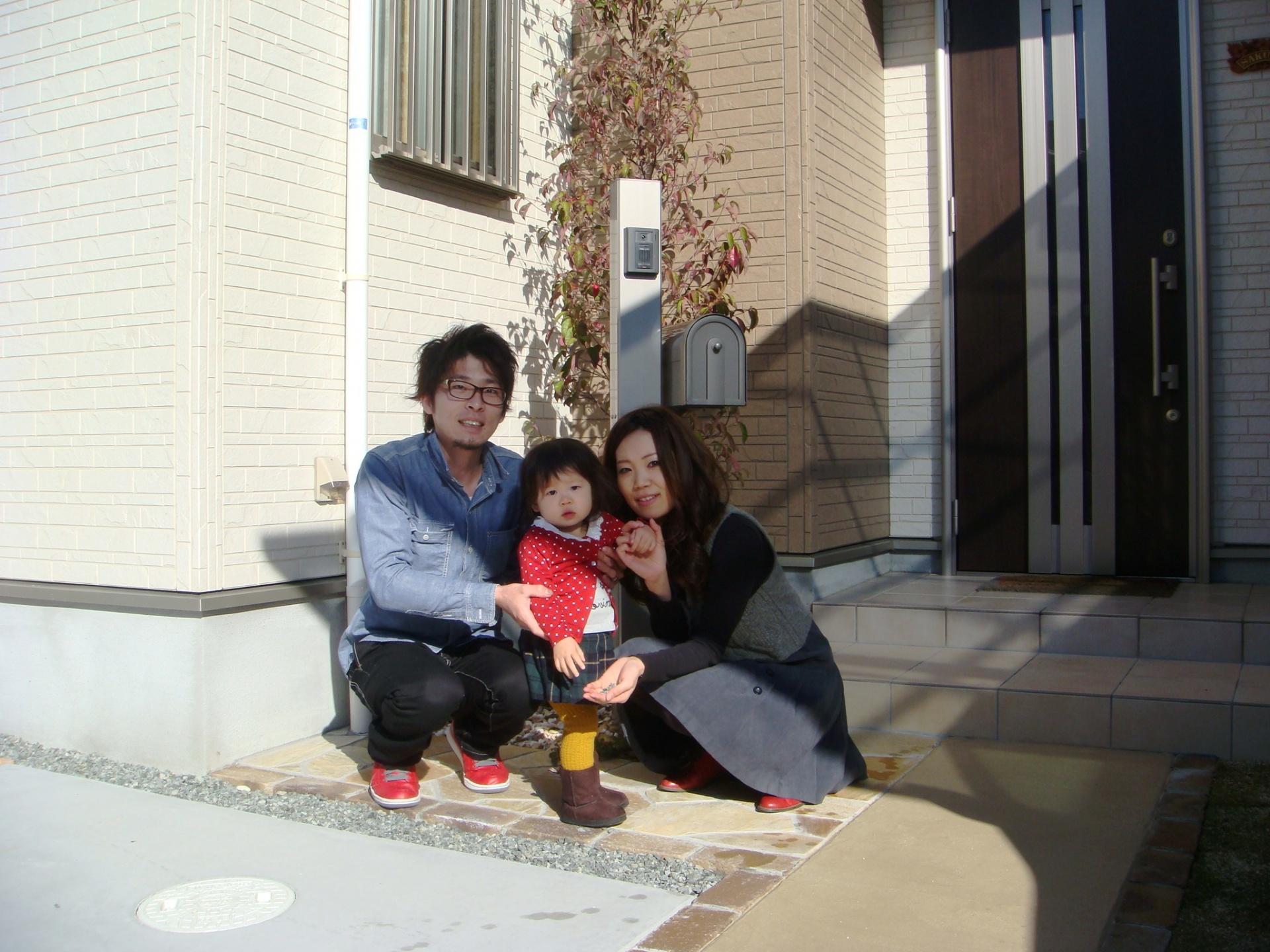 姫路市S様ご家族写真