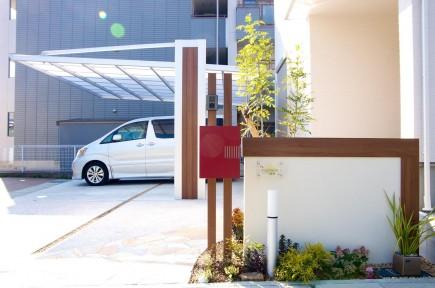 木目で建物と統一感のあるデザイン 姫路市F様邸6