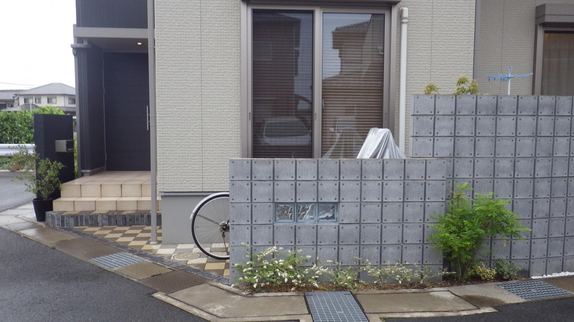 自転車置き場リフォーム