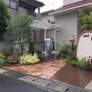 植物の成長を楽しむ門周り 姫路市H様1