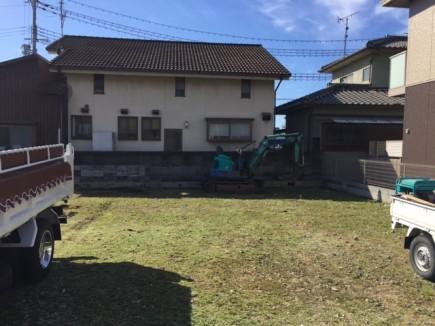 姫路市N様邸エクステリア工事ブロック塀解体1