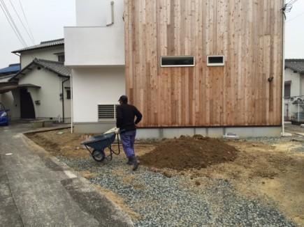 相生市M様邸新築外構工事1