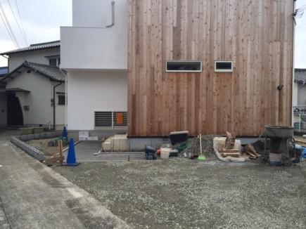 相生市M様邸新築外構工事2