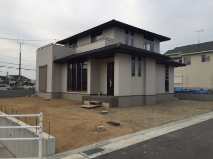 加古川市S様邸外構工事着工前1