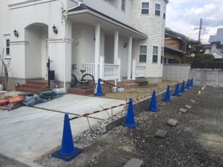 姫路市N様邸解体工事ブロック塀解体