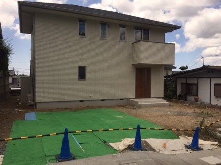 姫路市M様邸新築外構工事着工前状況1