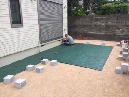 姫路市M様邸LIXIL:樹ら楽ステージ木彫組立て