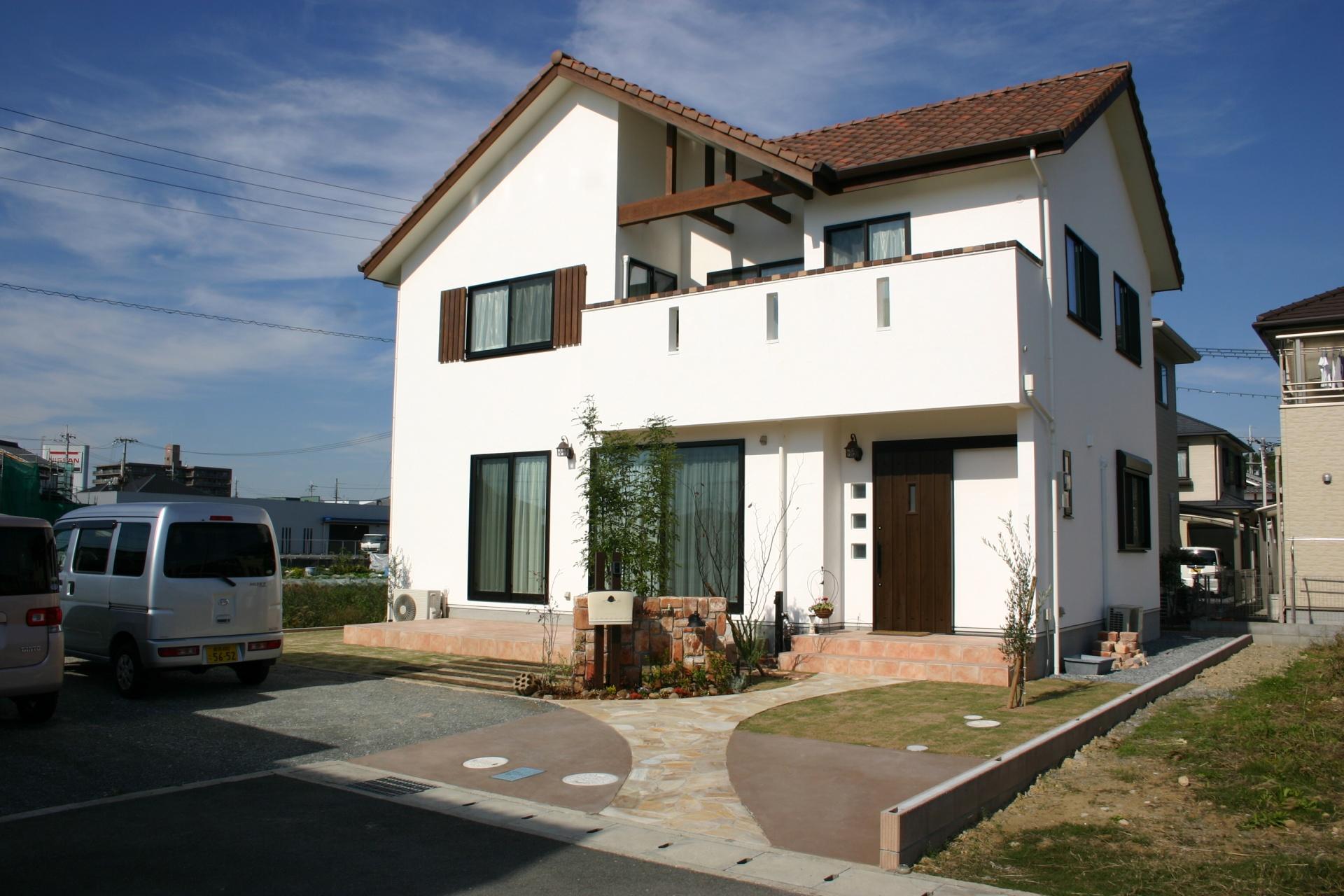 ナチュラルで可愛いお家に合わせてデザイン 太子町M様邸1