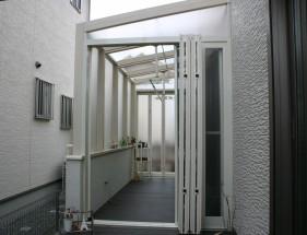 白で統一された空間 ココマガーデンルーム たつの市A様邸1