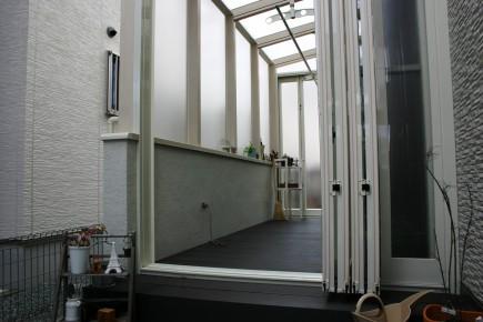 白で統一された空間 ココマガーデンルーム たつの市A様邸4