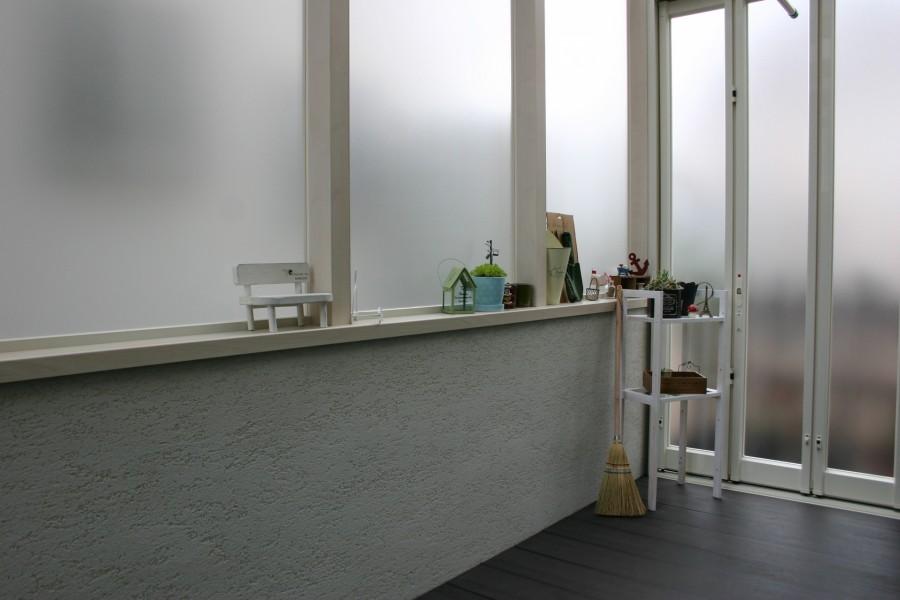白で統一された空間 ココマガーデンルーム たつの市A様邸6