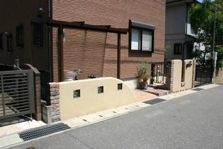 耐火煉瓦でクラシックなデザイン 太子町M様邸3