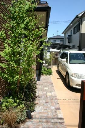 耐火煉瓦でクラシックなデザイン 太子町M様邸6
