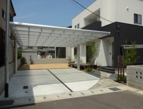 自然素材を取り入れたシンプルデザイン 姫路市O様邸1
