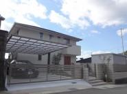すっきりとしたシンプルデザイン 姫路市M様邸全景1