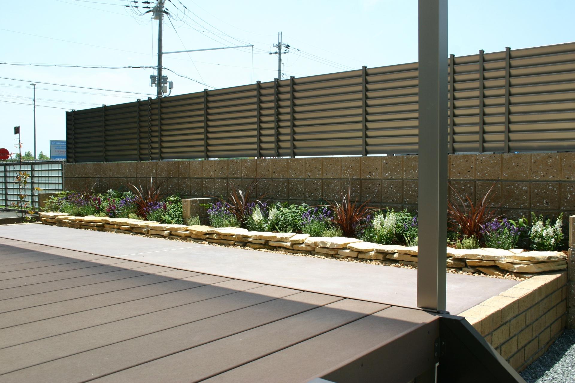 使い勝手の良い緑溢れるお庭 たつの市F様邸施工後